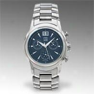 Esq Quest Mens Stainless Steel Grey Watch