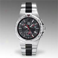 Esq Swiss Rally Staonless Steel Quartz Watch