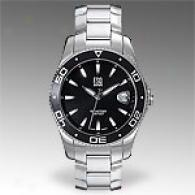 Esq T0urnament Mens Stainless Steel Black Watch