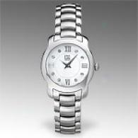 Es Verona Womens Stainlesx Steel Watch