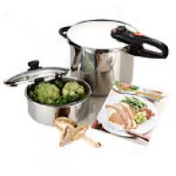 Fagor 5pc Pressure Cooker & Canning Set