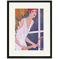 Fashions For Tennis Framed Print