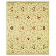 Feizy Antolya Beige And Sage Hand Knotted Rug