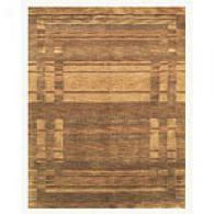 Feizy Berlin Chocolate Hand-knotted Rug
