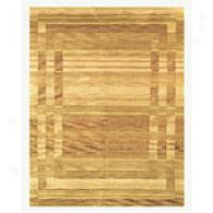 Feizy Berlin Gold Hans Knotted Rug
