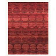 Feizy Berlin Zinfandel Hand-knotted Wool Rug