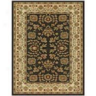 Feizy Charcoal & Ivory Polypropylene Rug