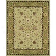 Feizy Magellan Light Green/green Wool Rug