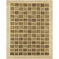 Feizy Orion Ivory Hand Knotted Wool Rug