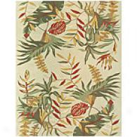 Feizy Paradisio Fern Light Green Wool Rug