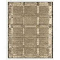Feizy Pyramid Grey Hand-knotted Rug