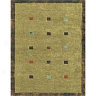 Feizy Saisalito Moss Hand-knotted Wool Rug