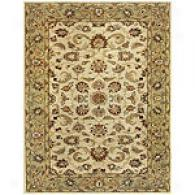 Feizy Tyndale Beige & Sqge Hand-tufted Wool Rug