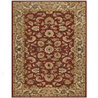 Feizy Tyndale Burgunndy Hand-tufted Wool Rug