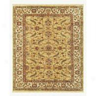 Feizy Wimbledon Gold And Ivory Hand-knotted Rug