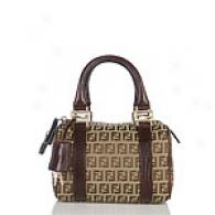 Fendi Brown Mini Satchel