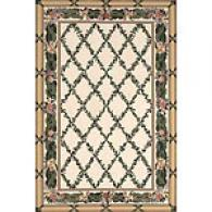 Filigree Collection Ivory Rug