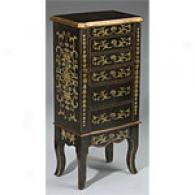 lFowering Trumpets Jewelry Armoire