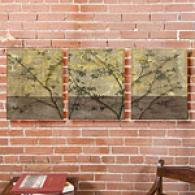 Foliage Melange Set Of 3 61in X 20in Canvas Prints