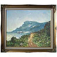 Framed Monet