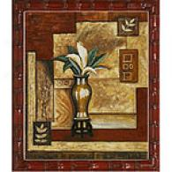 Framed Oil Painting Interior Angles