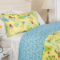Freckles Magic Castle 200tc 100% Cotton Duvet Set