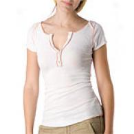 Free Peolle Damsel In Distress White Thermal Top