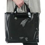 Furla Black Divide It Medium Shopper