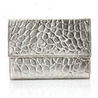 Furla Classic Embossed Leather Foglio Wallet