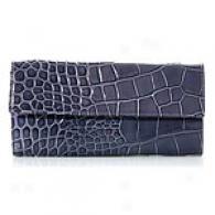 Furla Classic Fpglio Embossed Leather Bag