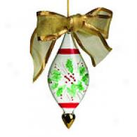 Gorham Festive Holly Ornaments
