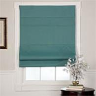 Green Blackout Fabric Roman Shade