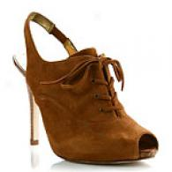 Guess Nitty Suede Slingback Oxford Pumps