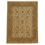 Gulej Soft Gold & Honey Hand Knotted Wool Rug