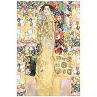 Gustav Klimt Portrait Of A Woman Art Print