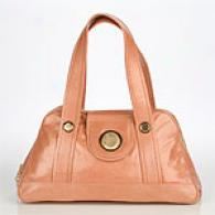 Gustto Freda Metallic Leather Bag
