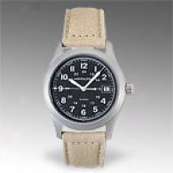 Hamilton Khaki Iii Mens Fabric Strap Watch