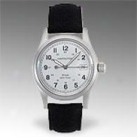 Hamilton Khaki West Point Mens Leather Watch