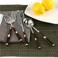 Hampton Forge Kenya 40pc Flatware Set