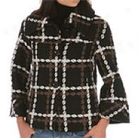 Hilary Radley Ny Wool Knit Jacket