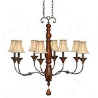 Hinkley Lighting Eight Ligght Canterbury Chandelier