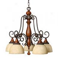 Hinkley Lighting Five Light Canterbury Chandelier