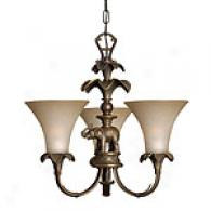 Hinkley Lighting Serengeti Three Light Chandelier