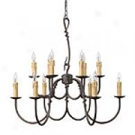 Hinkley Lighting Woodstock Twelve Light Chandelier