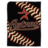 Houston Astros 60in X 80in Baseball Throw