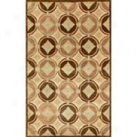 Hugo Collection Brown Hand Tufted Wool Rug
