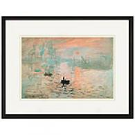 Impression Sunrise Framed Print By Monet