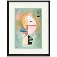 In Alto Framed Print By Wassily Kandinsky