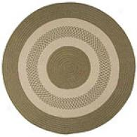 Indoor/outdoor Braided Sage Rug
