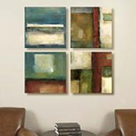 Infinite Tone Stake Of 4 Canvas Prints